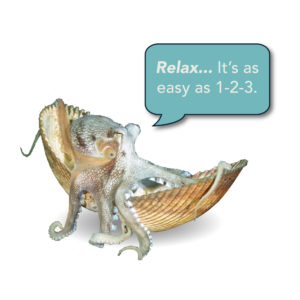 Squid in a shell saying